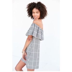 Urban Outfitters gingham print shift dress